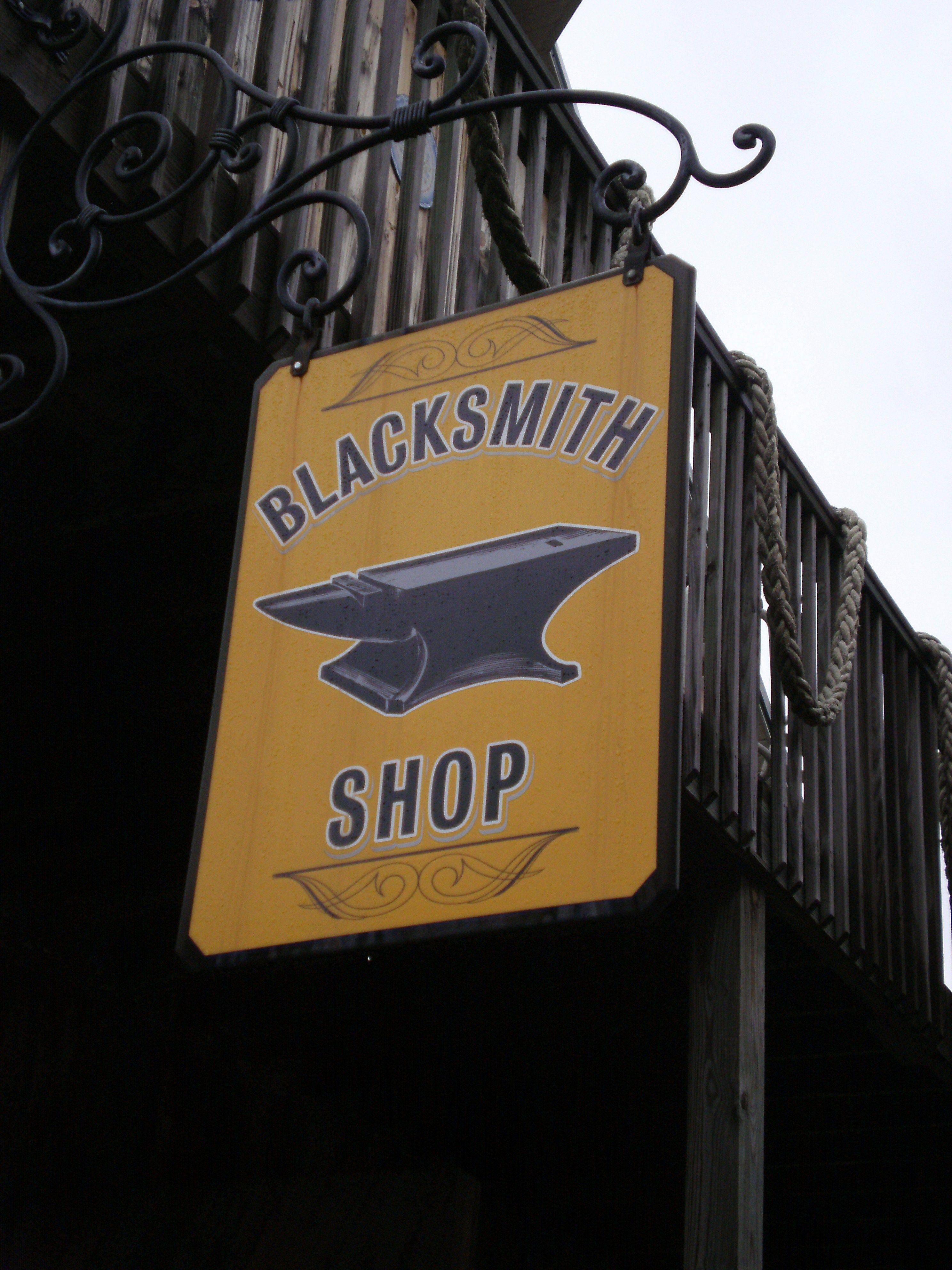 Anderson blacksmith shop williamsburg virginia with