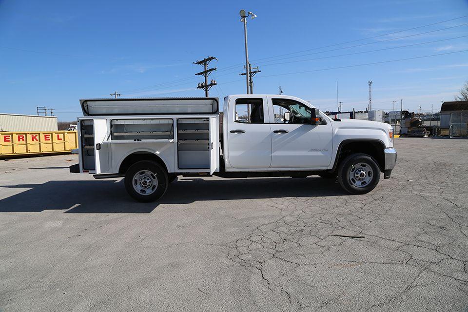 Aluminum service bodies knapheide website work truck
