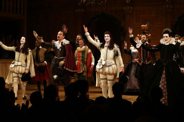 Photo Coverage Inside Twelfth Night S Opening Night Curtain Call