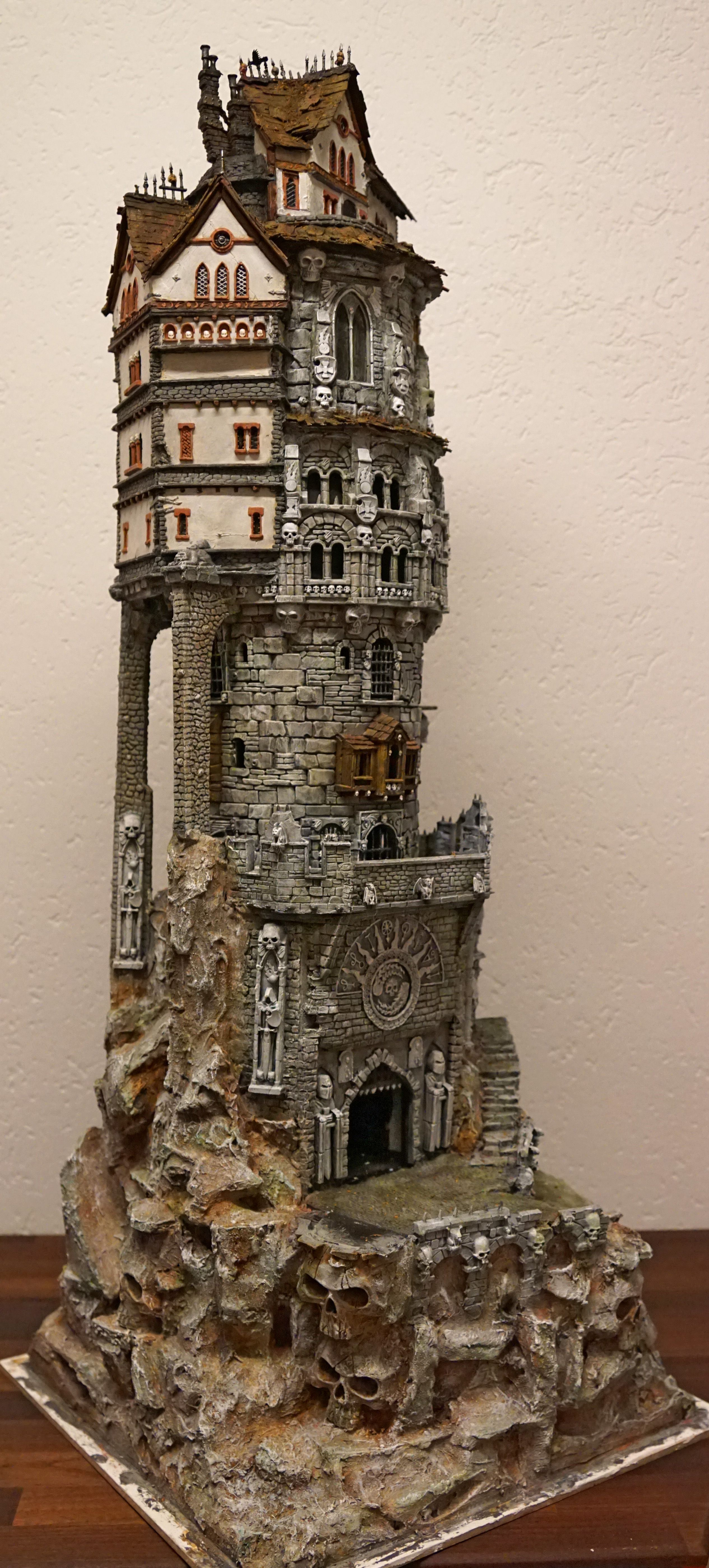 Cool Tower 2 Buildings Fantasy House Miniature Houses