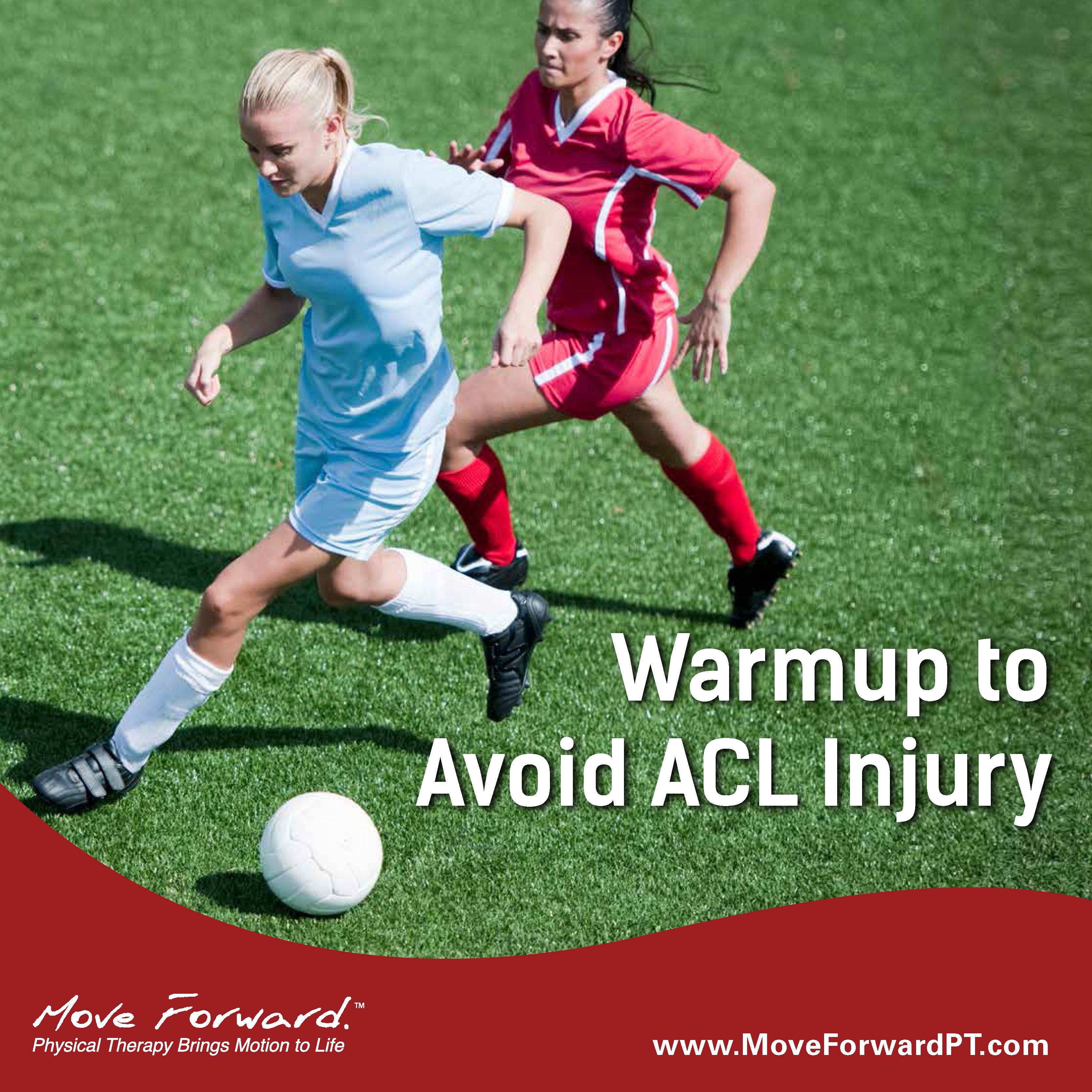 Warmup Exercises Reduce Acl Injuries Workout Warm Up Injury Prevention Injury