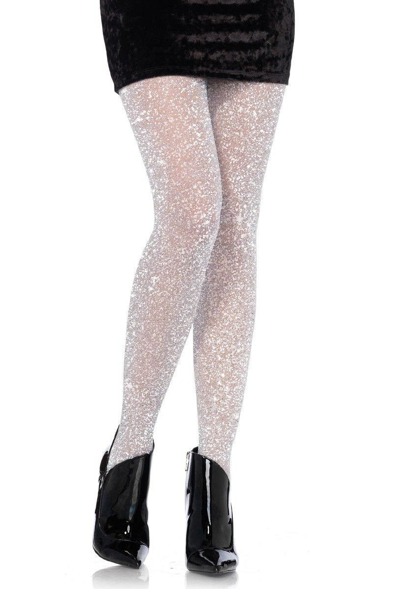 9b7957ab0 Silver Shimmer Pantyhose Hosiery in 2019