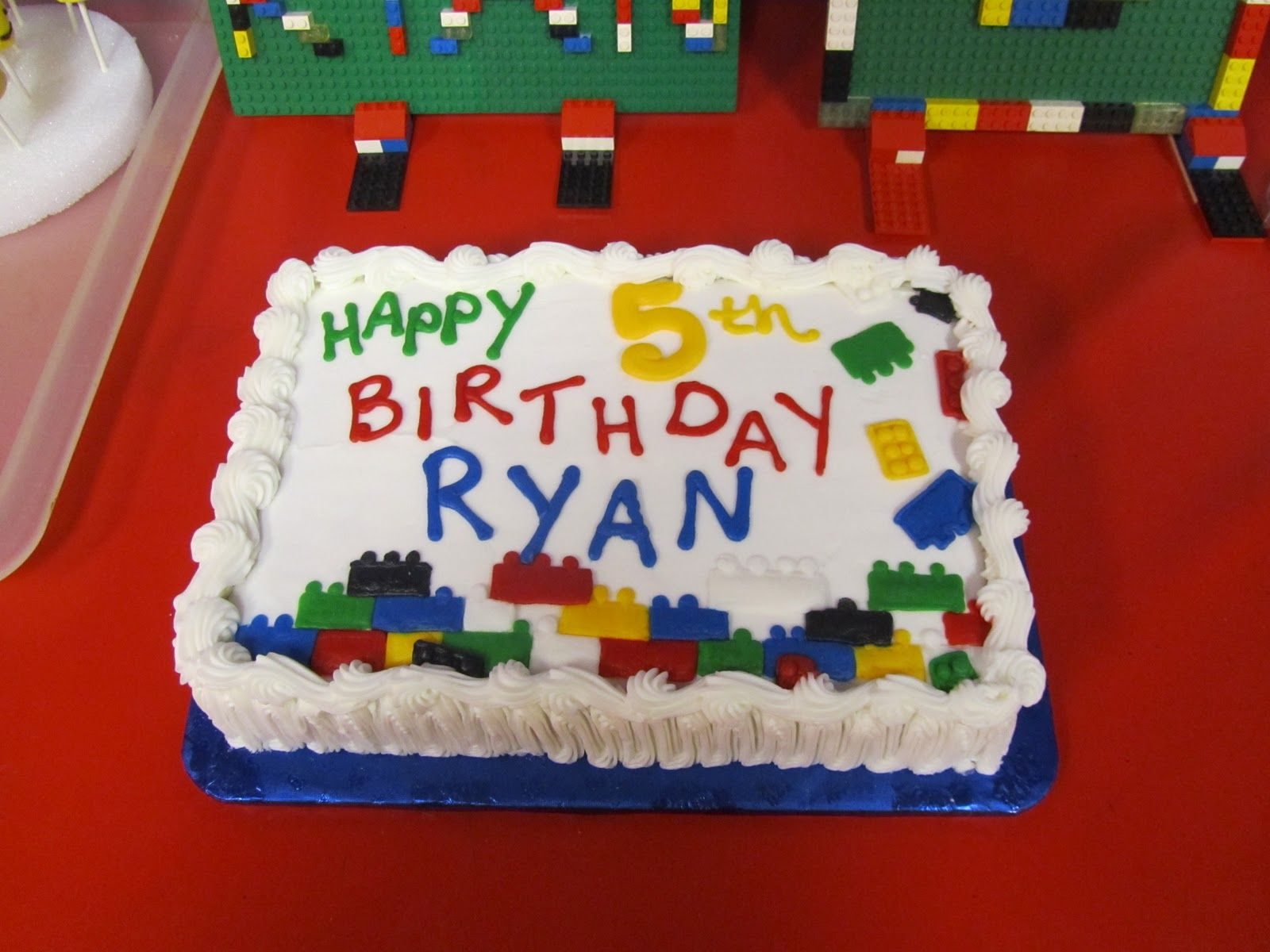 lego cake topper birthday | We ordered a LEGO cake from our local bakery, Ann's Kitchen Cakes.