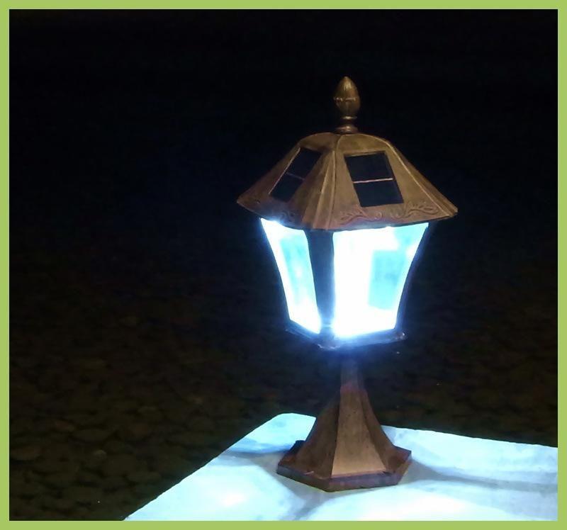 Luces De Navidad Exterior Outdoor LED Street Solar Garden Light - Luces De Navidad