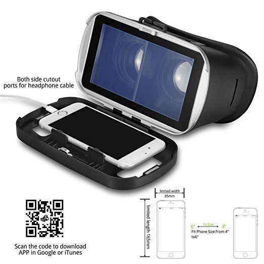 ae677ff41d8 Amazon.com  VR Headset