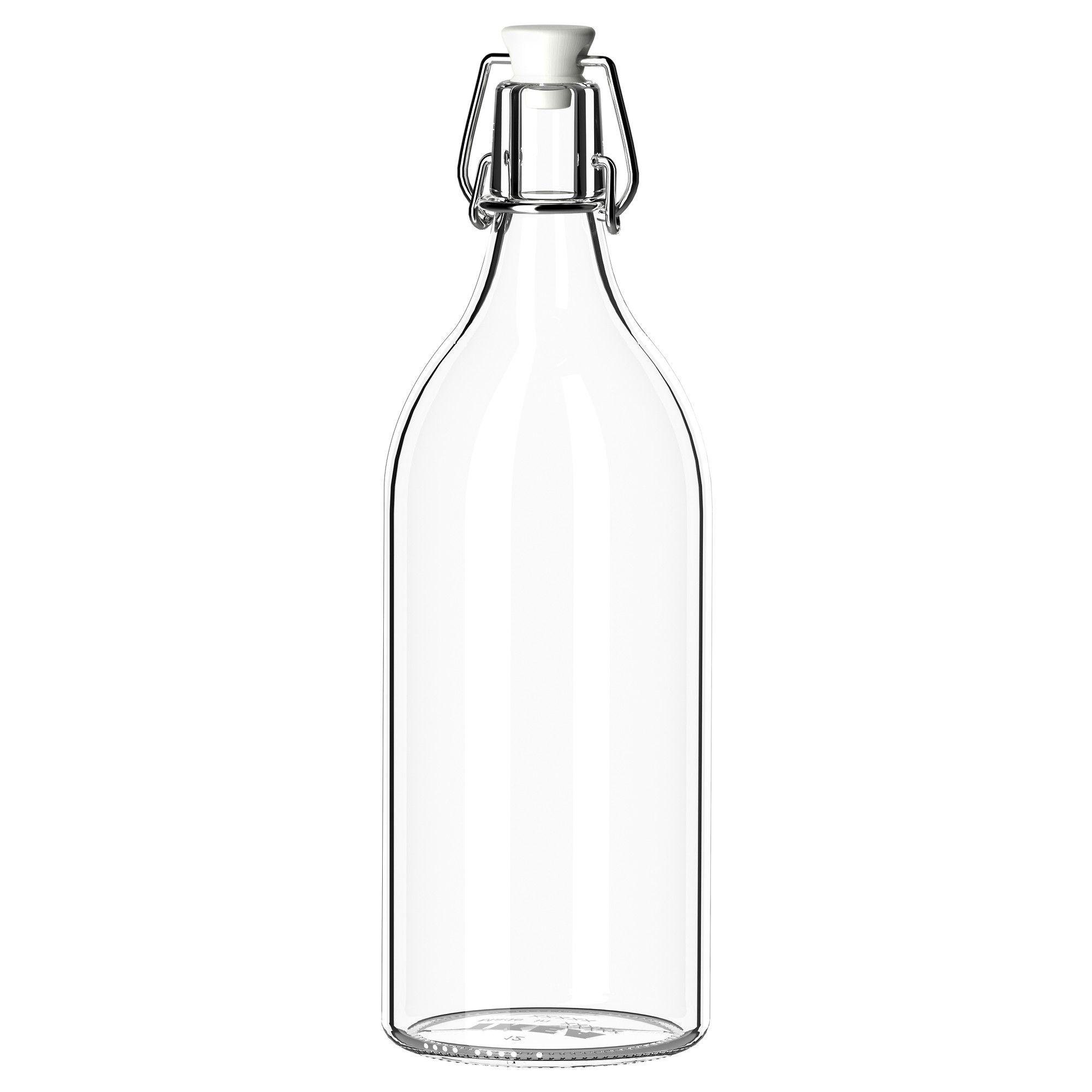 Korken bottle with stopper clear glass bottle kitchens and korken bottle with stopper ikea 399 can anybody say hanging reviewsmspy