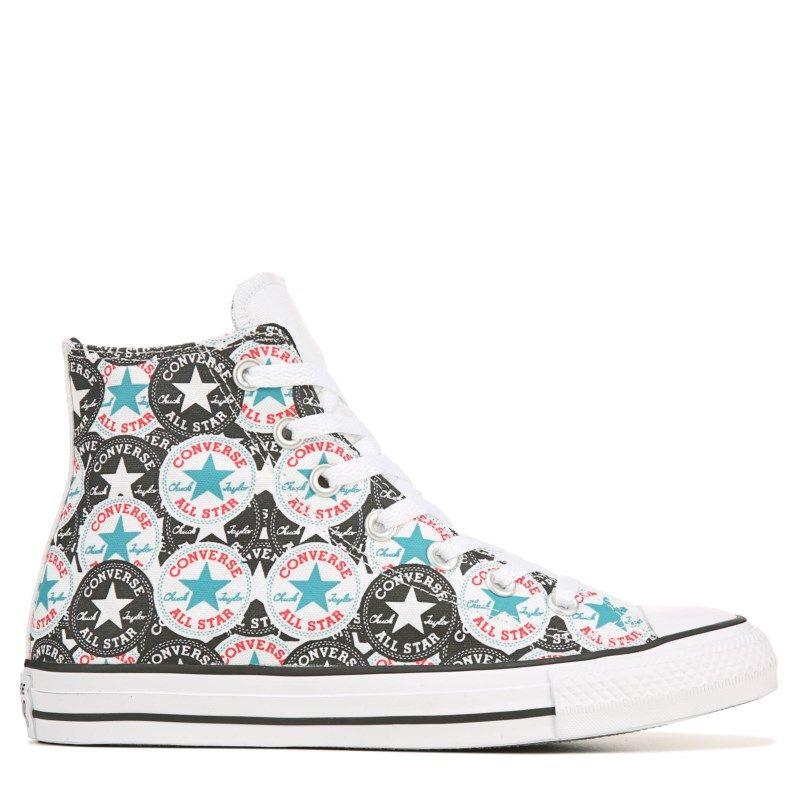 Converse Chuck Taylor All Star Hi Top Sneakers (White/Multi/Black)