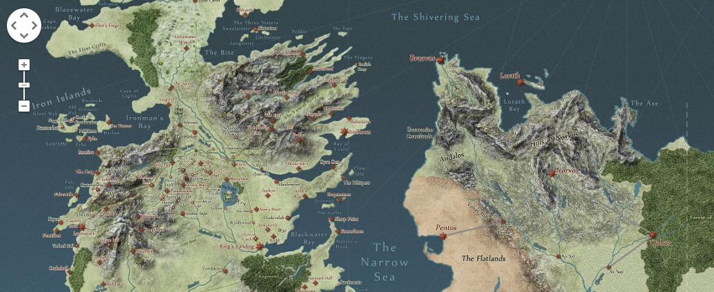 Explore the world of game of thrones as if it were on google maps explore the world of game of thrones as if it were on google maps gumiabroncs Image collections