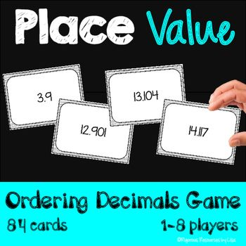 Do your students struggle with ordering decimals? My Place Value - Ordering…