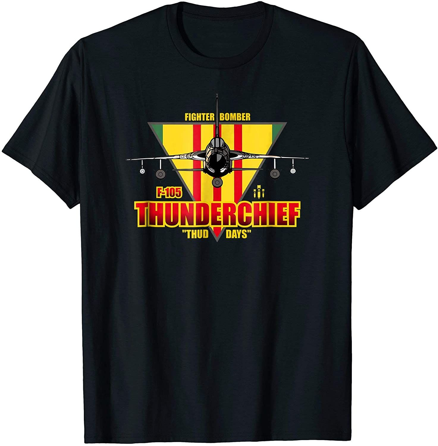 F105 Thunderchief Tee Air Force Fighter Bomber Tshirt