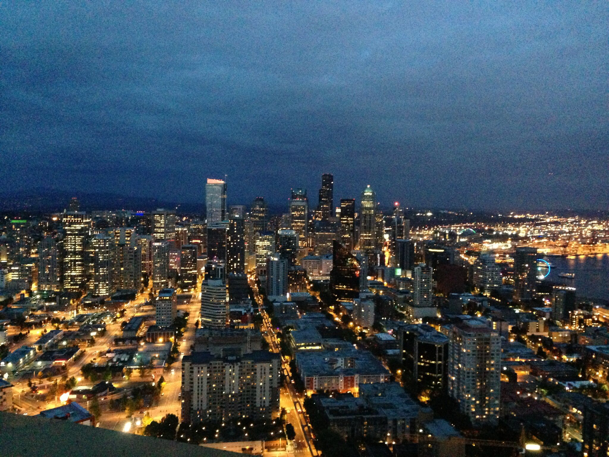 Pretty view in Seattle