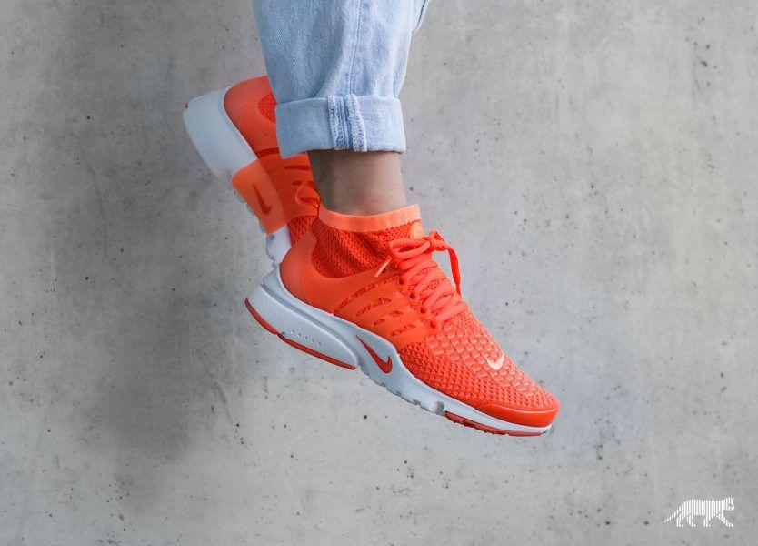 nike presto femme orange