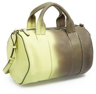 Alexander Wang 'Rocco' Heat Sensitive Leather Satchel on shopstyle.com....I'm in loveeeeee!!!!!