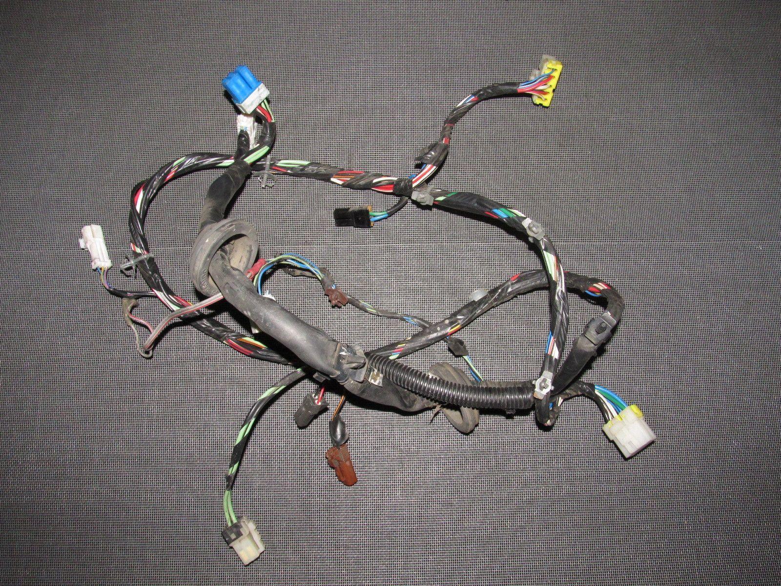 89 90 91 92 93 94 nissan 240sx oem door wiring harness - left