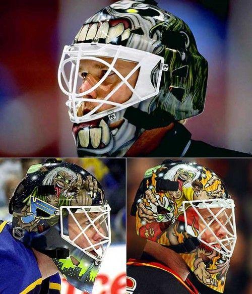 12 Scariest Hockey Masks Goalie Mask Hockey Mask Goalie
