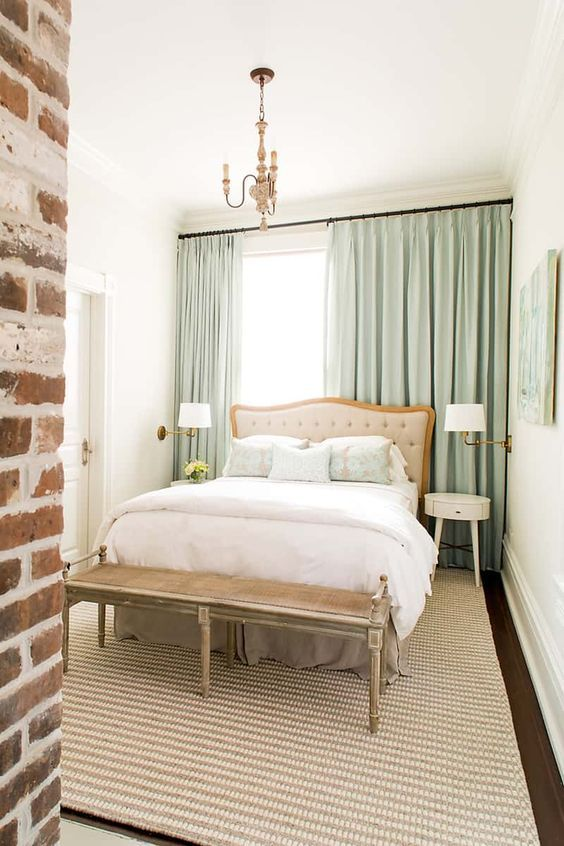 3 Furniture Layouts for a Small Bedroom - Bless'er House