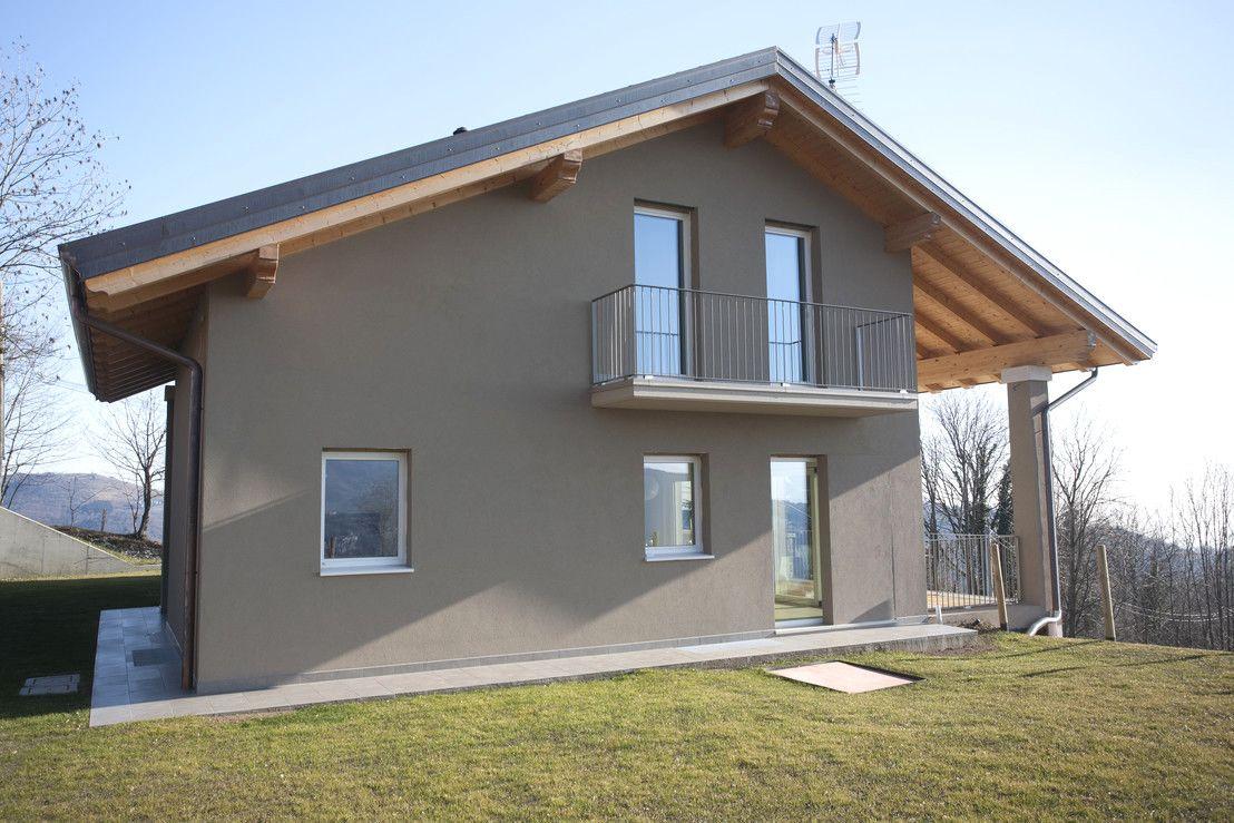 50 idee di colore casa esterno grigio image gallery con for Casa moderna esterno