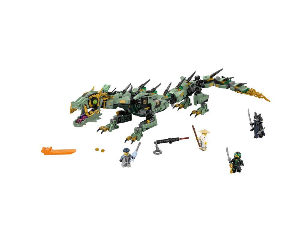 592 Pcs Blocks Toy NEW Ninjago Green Ninja Mech Dragon 70612 Building Kit