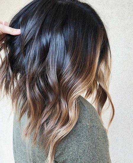 Balayage Haar Braun Eins 23 Erstaunliche Kurze Ombre Frisuren