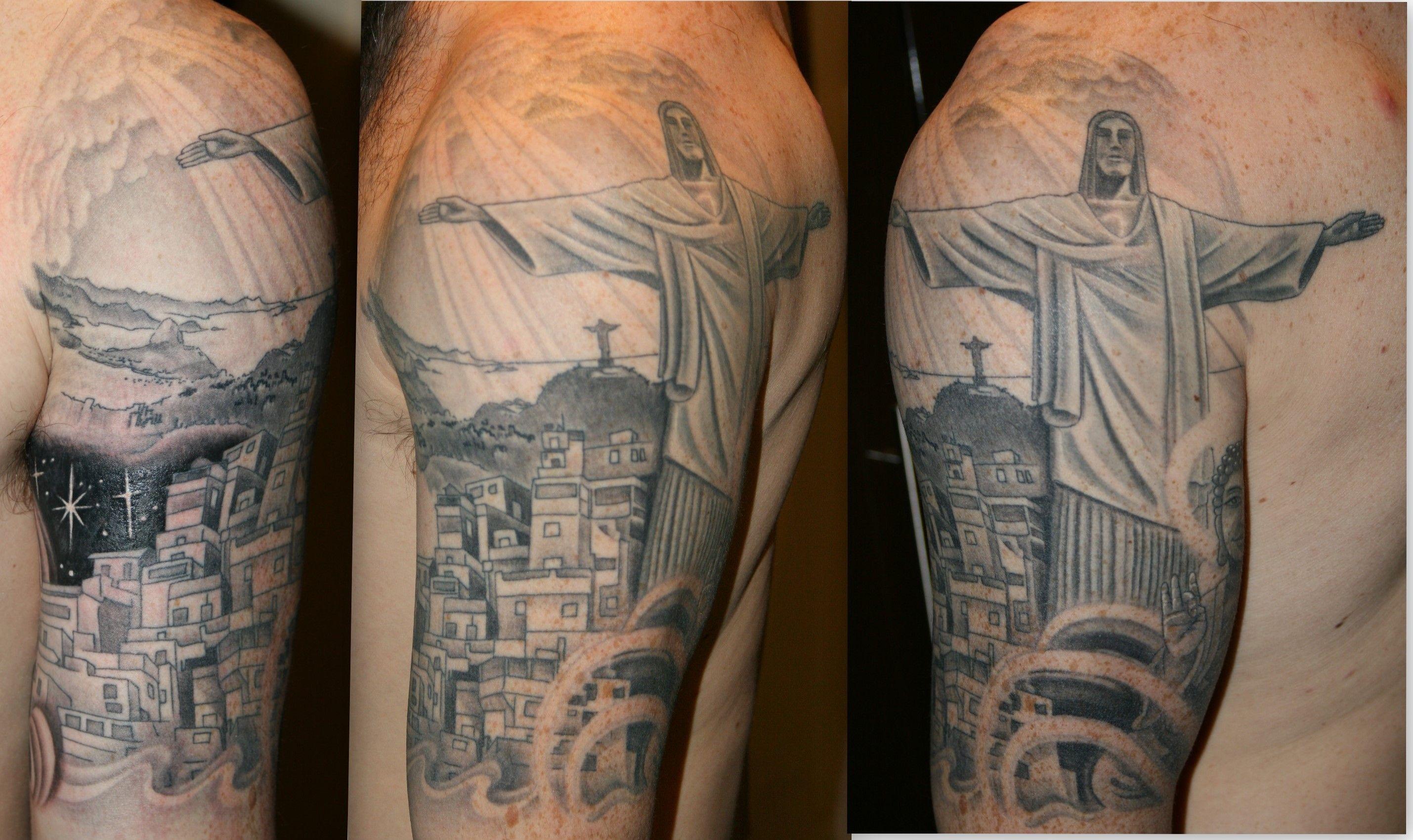 Rio Tattoo By Ian Flynn Com Imagens Tatuagem Tatoo