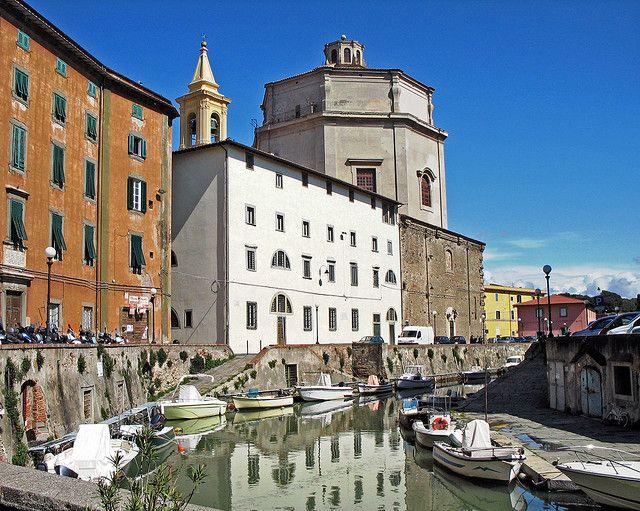 Livorno, quartiere Venezia nuova | Italy, Europe