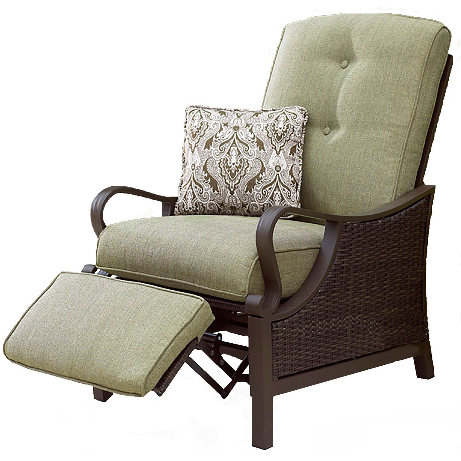 amazon com hanover venturarec ventura indoor outdoor recliner with