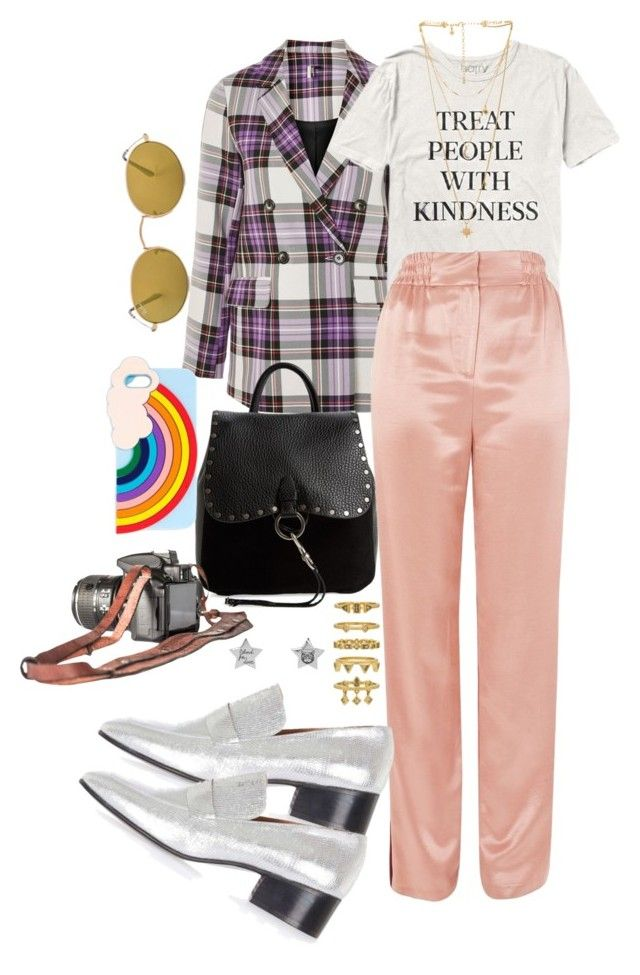 """Harry styles concert outfit"" by veronice-lopez ❤ liked on Polyvore featuring Topshop, Rebecca Minkoff, Miss Selfridge, Ray-Ban, Gucci and Luv Aj"