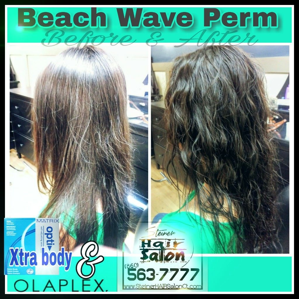 Pin By Steiner Hair Salon On Beach Wave Perms Wave Perm Body Wave Perm Permed Hairstyles