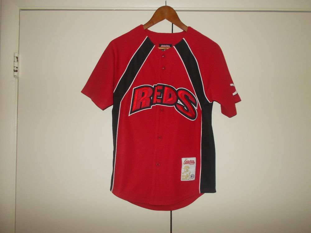 Cincinnati Reds Ken Griffey Jr 3 Jersey Stitches Athletic Gear