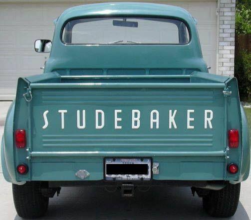 Pin by john manders on Studebaker truck | Truck tailgate