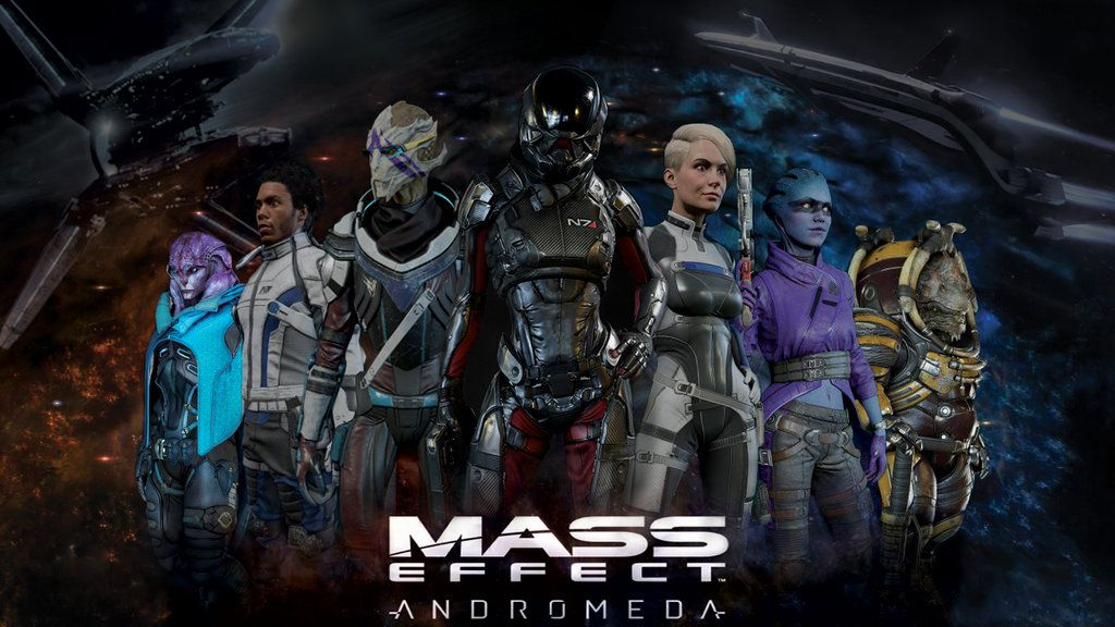 Mass Effect Andromeda Wallpaper By Crimsondaeva