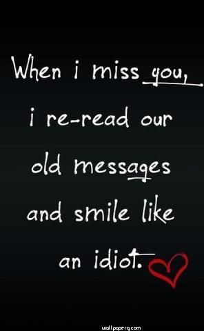 Download When I Miss You Hd Wallpaper For Mobile Heart Touching Love Quote For Your Mobile Cell Ph Friends Quotes I Miss You Quotes I Miss You Quotes For Him