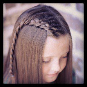 Crossover Dutch Braid and more Hairstyles from CuteGirlsHairstyles.com Cute for all ages <3