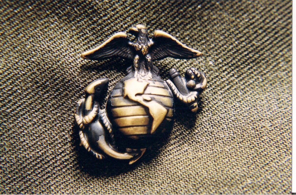 Marine Corps Logo Hd Wallpaper Marine Corps Emblem Usmc Marines