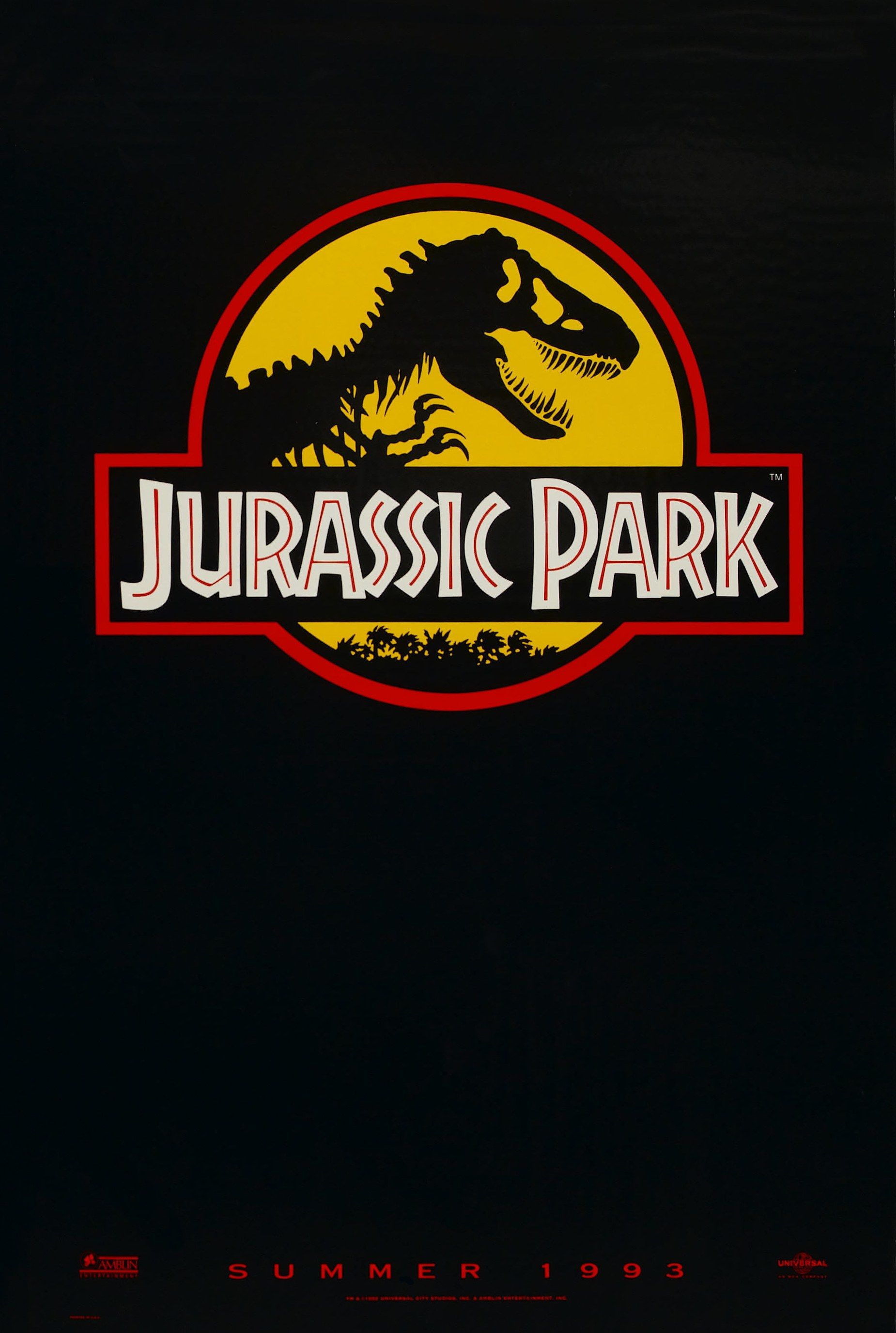 Resultado de imagem para jurassic park teaser poster