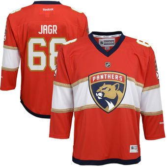 brand new 4fdc3 83f03 Jaromir Jagr Florida Panthers Red Home Replica Player Jersey ...