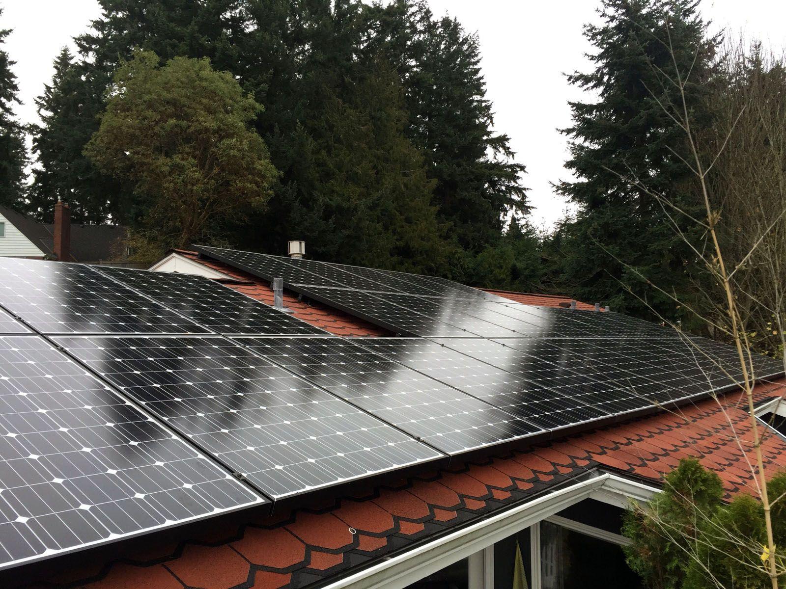 City Of Shoreline Solar Shoreline Northwest Washington