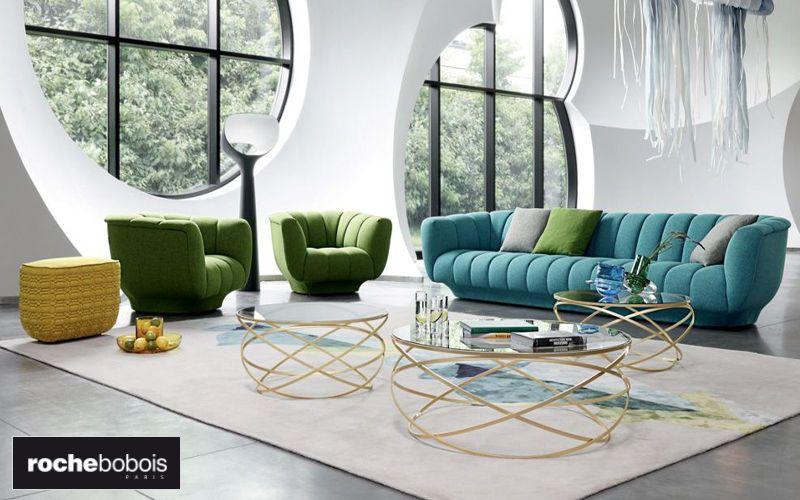 Une inspiration de salon imaginée par le fabricant français Roche ...