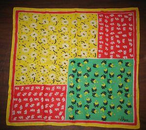 vintage patchwork vera scarf