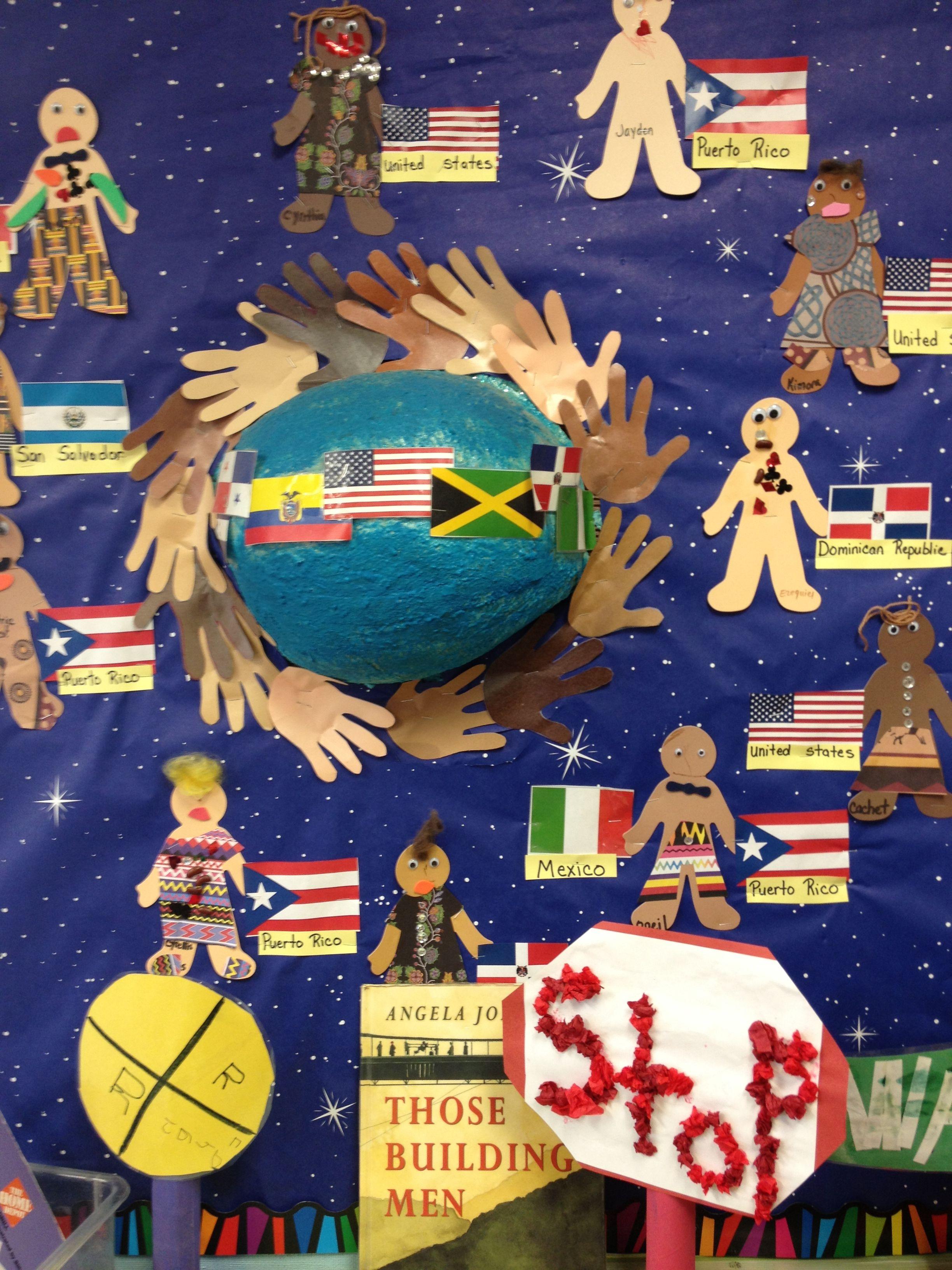 Multicultural board | Multicultural activities, Preschool ...