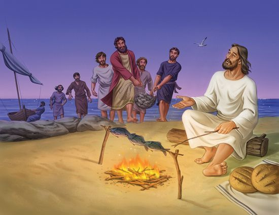 Lesson 5 Jesus Appears To Seven Disciples John 21 1 14 Take