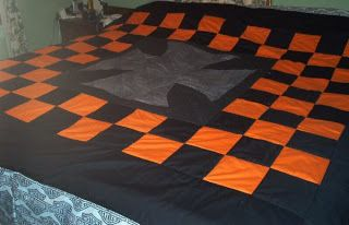 The Crafty Life: Harley Davidson - Motorcycle quilt