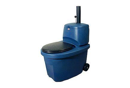 Biolan Erotteleva Kuivikekäymälä sininen