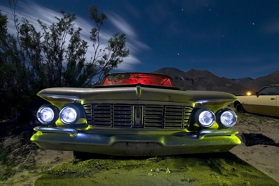 Lost America master of abandoned night photography, Troy Paiva of ...