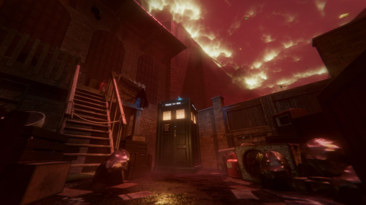 Doctor Who The Edge of Time is a VR journey through the