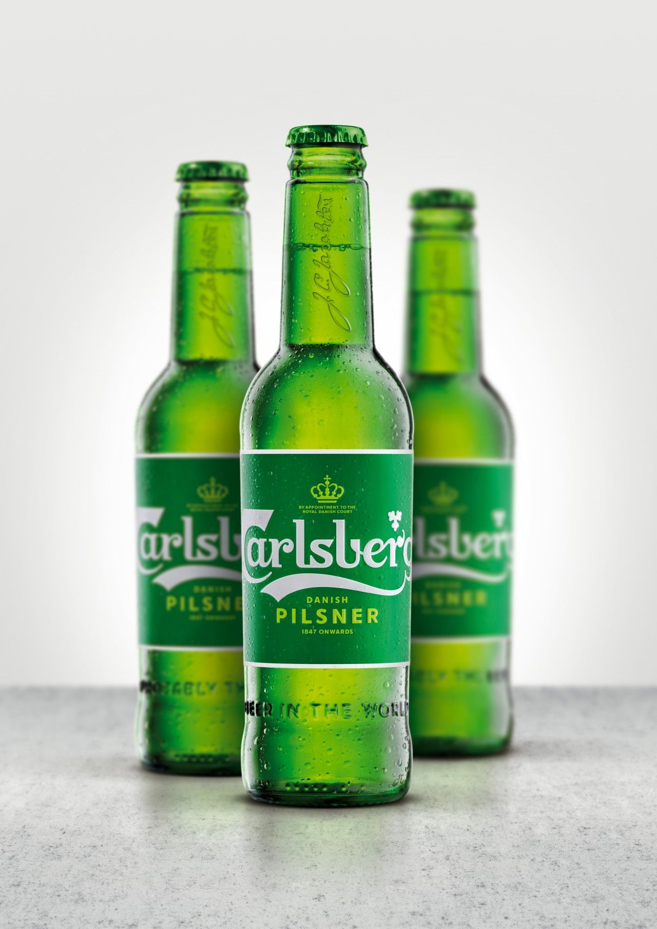 New Logo and Packaging for Carlsberg by Taxi Studio Biere