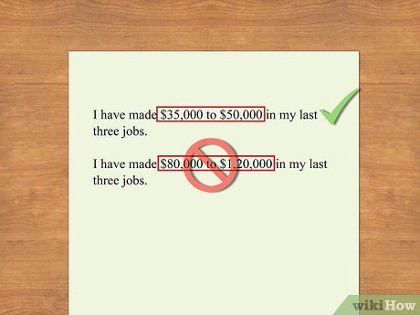 Include Salary History on Resume - salary requirements resume
