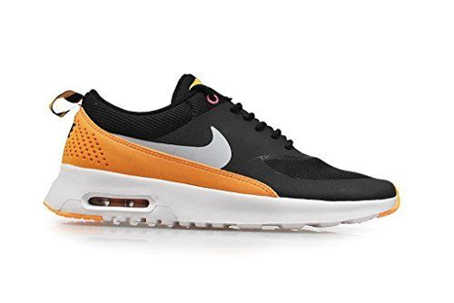 nike womens air max THEA running trainers 599409 sneakers shoes (uk 3.5 us 6 eu 36.5, Black/Black-Atomic Mango-Pink Glow(010)) - http://buyonlinemakeup.com/nike/6-us-nike-womens-air-max-thea-black-wolf-grey-white-6