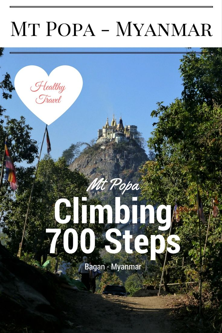 Climbing the 700 steps up that hill will give you the satifcation to get away from the monkeys :) and to get a great view on the surroundings! #Healthy #Travel