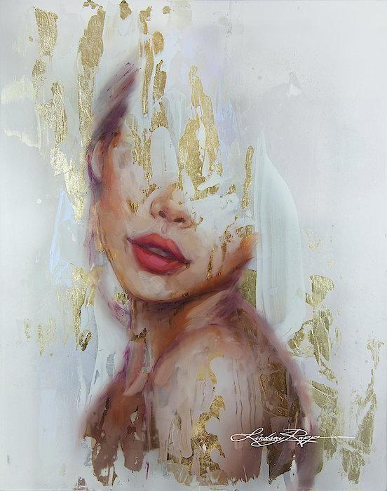 Papierdruck Golden State Of Mind, #Golden #kunstacryl #Mind #Papierdruck #State
